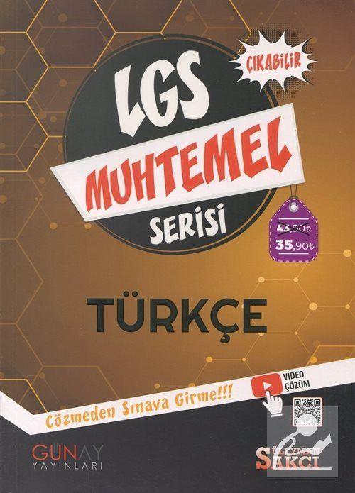 LGS Muhtemel Serisi - Türkçe Soru Bankası
