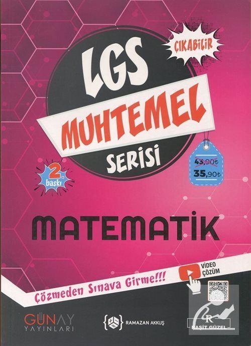 LGS Muhtemel Serisi - Matematik Soru Bankası
