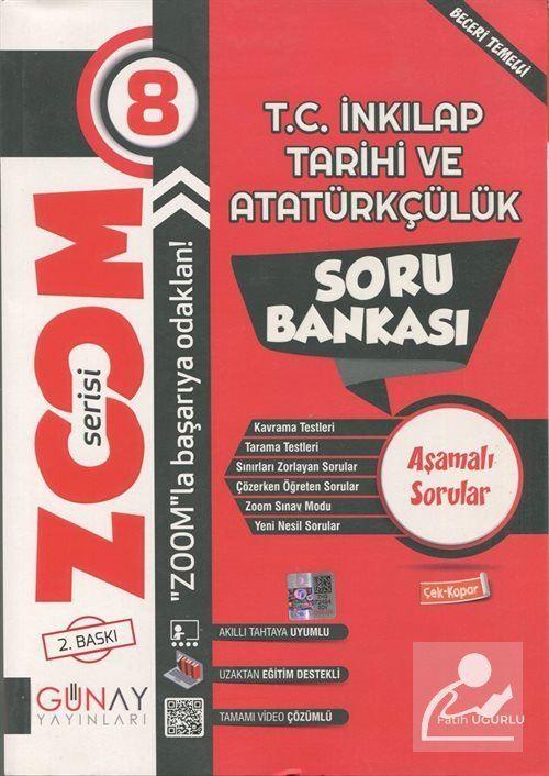 Zoom Serisi - 8. Sınıf T.C. İnkılap Tarihi ve Atatürkçülük Soru Bankası