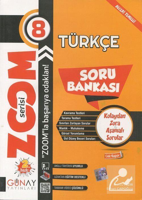 Zoom Serisi - 8. Sınıf Türkçe Soru Bankası