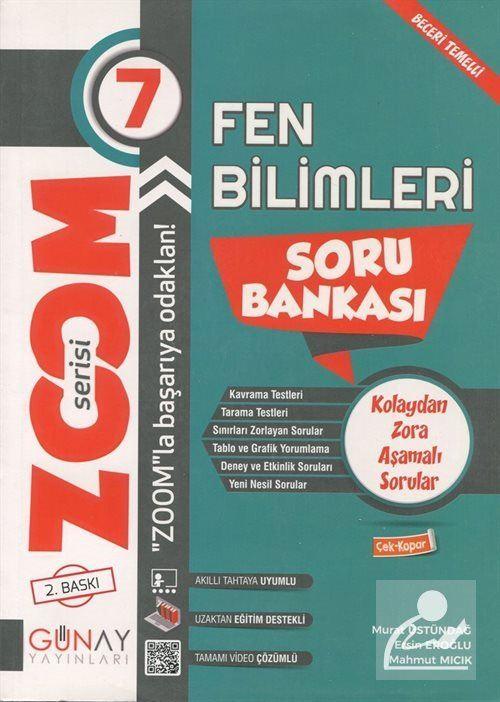 Zoom Serisi - 7. Sınıf Fen Bilimleri Soru Bankası