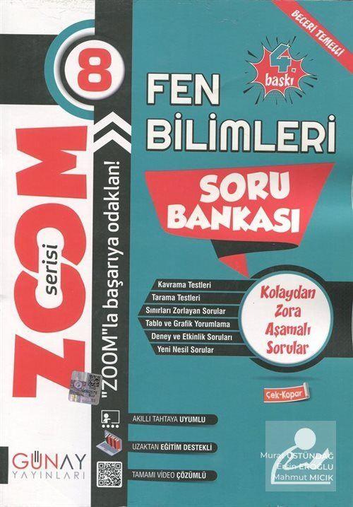 Zoom Serisi - Fen Bilimleri 8. Sınıf Soru Bankası