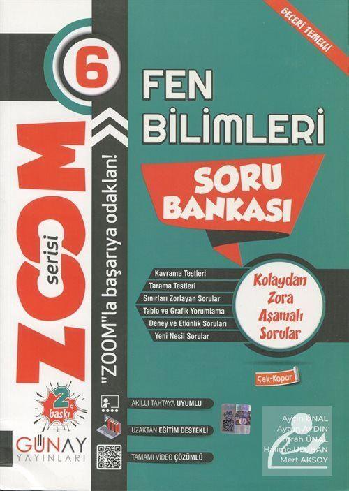 Zoom Serisi - 6. Sınıf Fen Bilimleri Soru Bankası