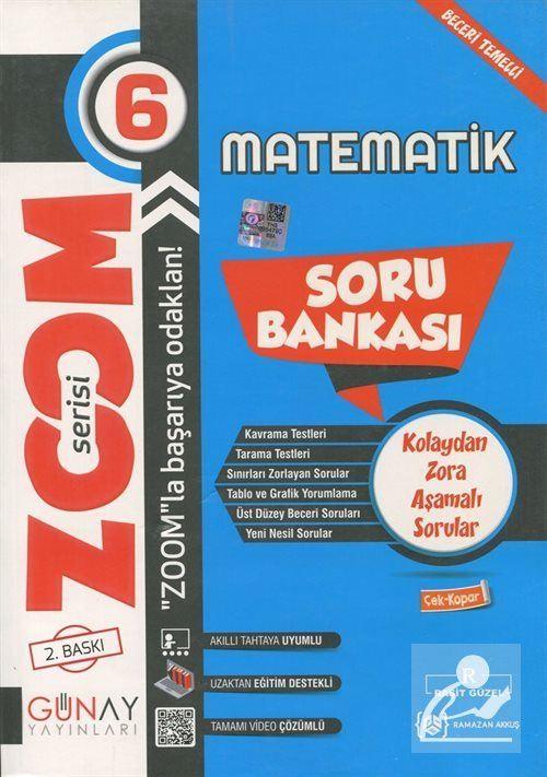 Zoom Serisi - 6. Sınıf Matematik Soru Bankası