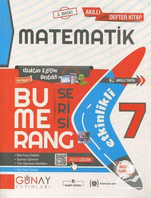 Bumerang Serisi - 7. Sınıf Etkinlikli Matematik Soru Bankası