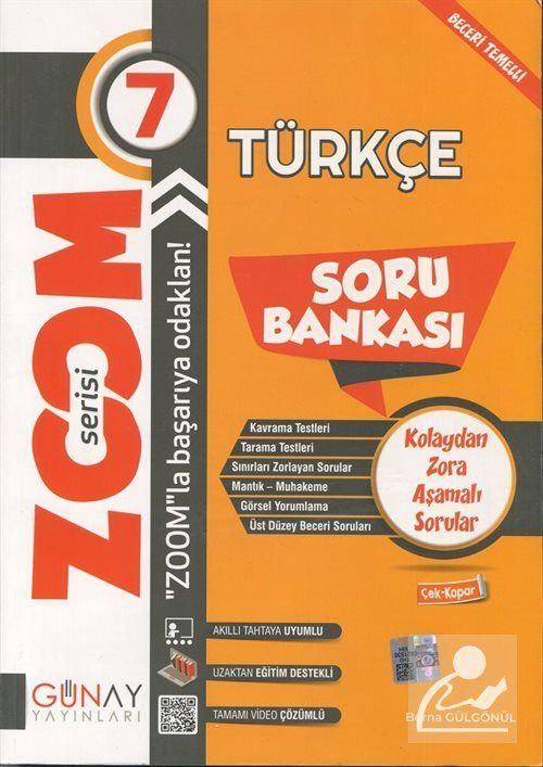 Zoom Serisi - 7. Sınıf Türkçe  Soru Bankası