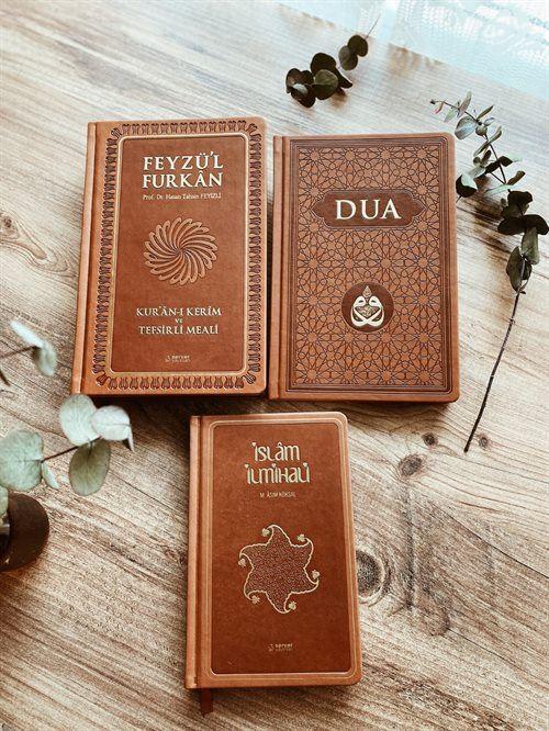 Başucu Seti 3 Kitap- Feyzul Furkan, Evradı Şerif, İslam İlmihali