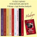 Tuğçe Işınsu Tüm Kitapları Seti 10 Kitap Aşk Kartları Hediyeli