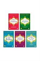 Nurdan Damla - Adanmış Ömürler Seti 5 Kitap Set
