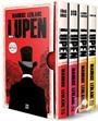 Arsen Lupen-Kutulu Kirmızı Set (4 Kitap Takım)
