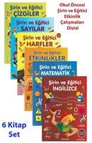 Okul Öncesi Şirin ve Eğitici Etkinlik Çalışmaları Dizisi (6 Kitap Set)