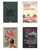 Mario Puzo Kitapları 4 Kitap Set Baba, Aile, Aptallar Erken Ölür, Münihe Kadar 6 Mezar