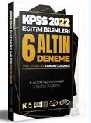 2022 KPSS Eğitim Bilimleri Tamamı Çözümlü 6 Altın Deneme