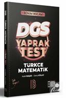 2022 DGS Türkçe - Matematik Yaprak Test