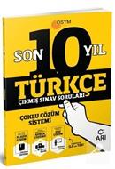 Son On Yıl Çıkmış Türkçe Sınav Soruları