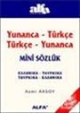 Yunanca-Türkçe Türkçe-Yunanca Mini Sözlük