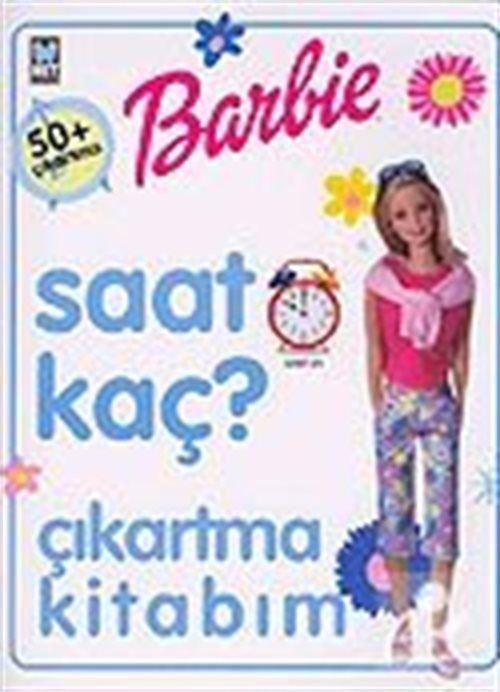 Barbie Saat Kaç? Çıkartma Kitabım