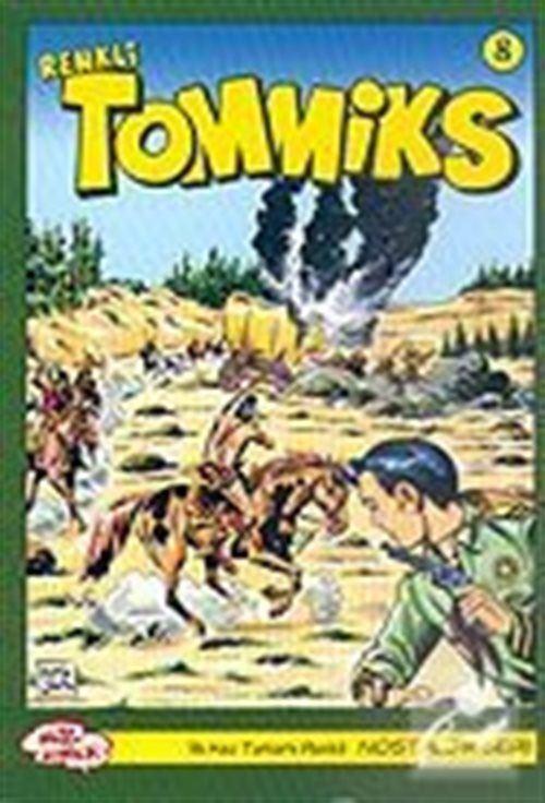 Tommiks (Renkli) Nostaljik Seri Sayı: 8