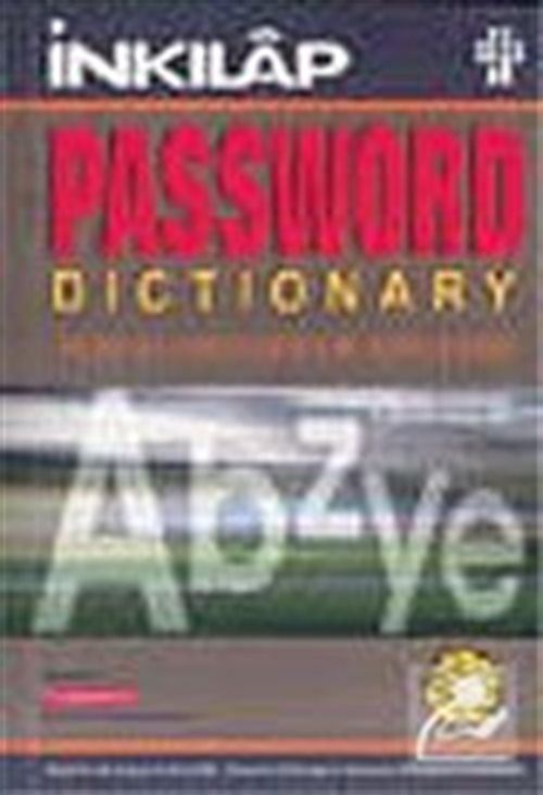 Password Dictionary For Learnes of English: English-English-Turkish