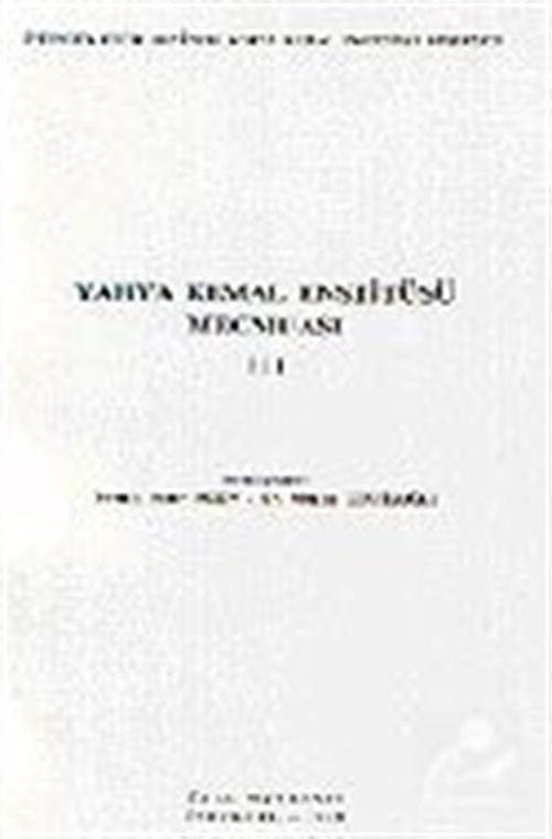 Yahya Kemal Enstitüsü Mecmuası III