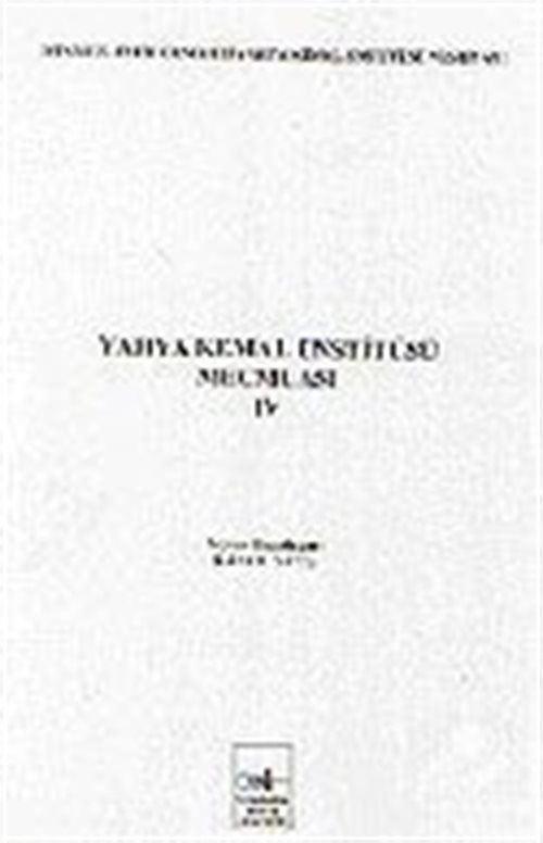 Yahya Kemal Enstitüsü Mecmuası IV