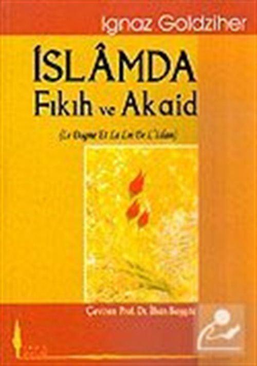 İslamda Fıkıh ve Akaid