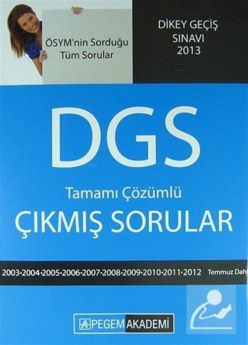 DGS Hazırlık Tamamı Çözümlü Çıkmış Sorular (2003-2011)