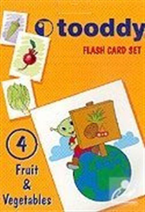 Tooddy Flash Card Set 4: Meyveler ve Sebzeler