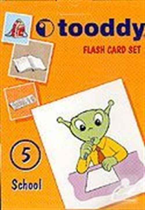 Tooddy Flash Card Set 5: Okul