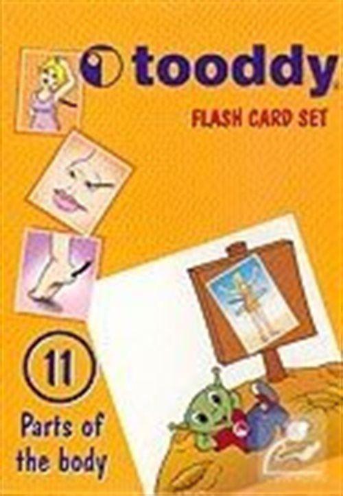 Tooddy Flash Card Set 11: Vücudun Bölümleri