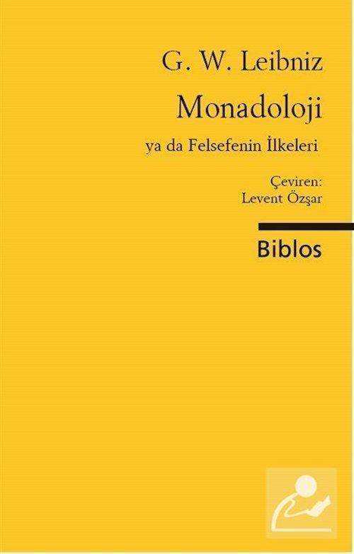 Monadoloji Ya da Felsefenin İlkeleri