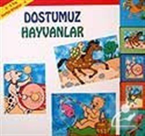 Karton Kitaplar 4 / Dostumuz Hayvanlar (2 - 5 Yaş) kod:58