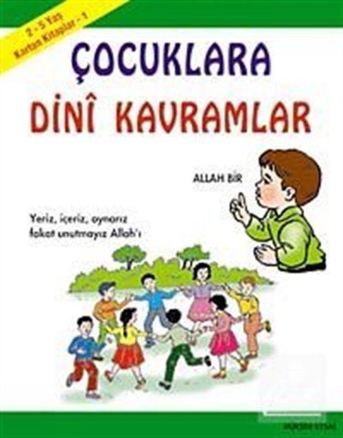 Karton Kitaplar 1 / Çocuklara Dini Kavramlar (2-5 Yaş) Kod:55