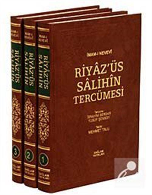 Riyaz' üs Salihin Tercümesi (3 Cilt-ithal)