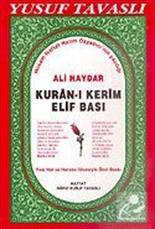 Ali Haydar Kuran-ı Kerim Elifbası (Kod: D05)