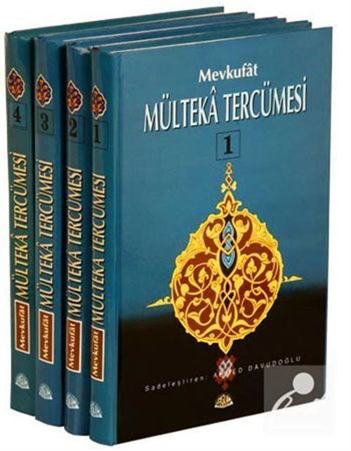 Mevkufat Mülteka Tercümesi (4 Cilt-şamua-Ciltli)