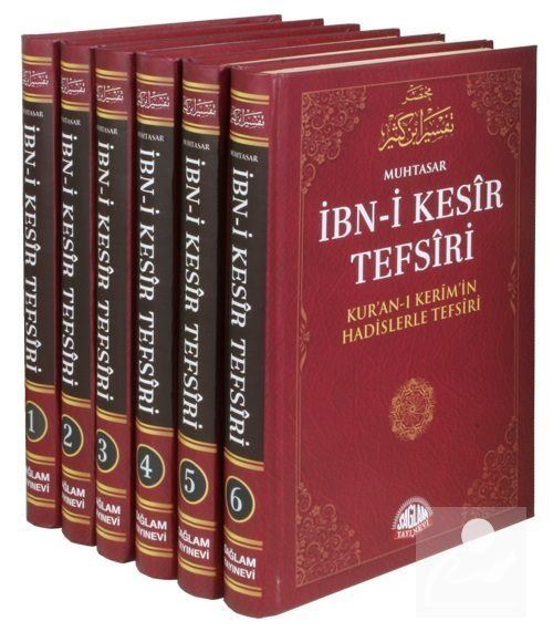 Muhtasar İbn-i Kesir Tefsiri (6 Cilt+Şamua) / Kur'anı Kerim'in Hadislerle Tefsiri
