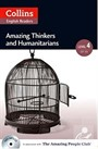 Collins English Readers Amazing Thinkers and Humanitarians +CD (A.People Readers 4) B2