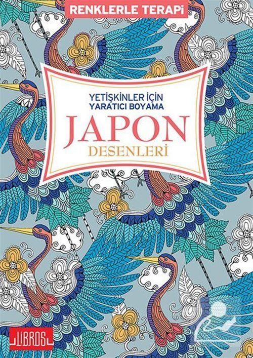 Japon Desenleri Yetiskinler Icin Yaratici Boyama Kollektif