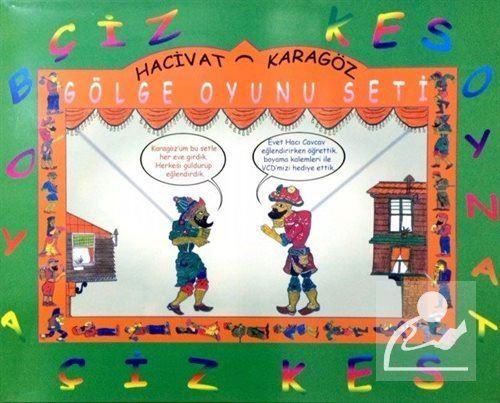 Hacivat Karagoz Golge Oyunu Seti