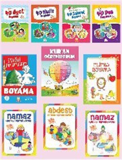 Okul Oncesi Ramazan Seti 10 Kitap Kollektif 30 Indirimli