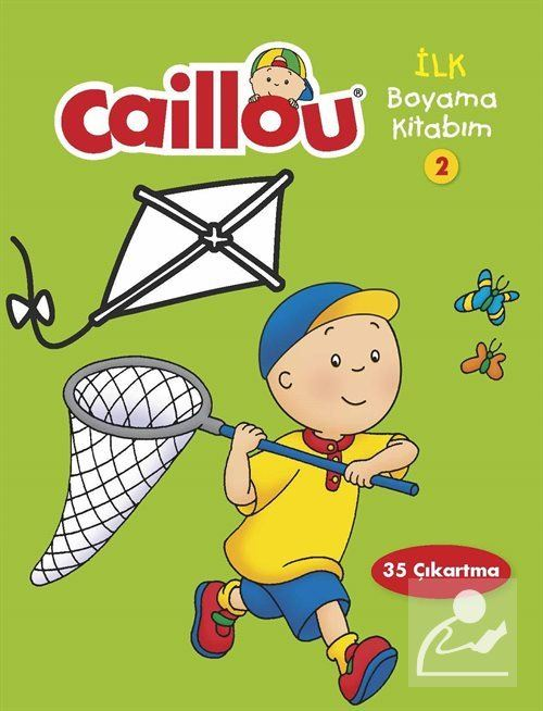 Caillou Ilk Boyama Kitabım 2 20 Indirimli