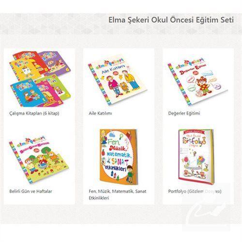 Elma Sekeri Okul Oncesi Egitim Seti 10 Kitap Kollektif 35